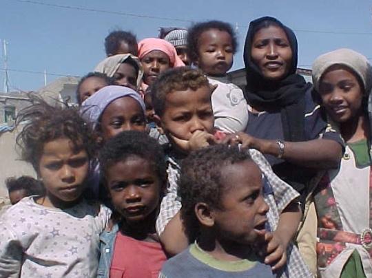 Photo: Nasser Arrabyee/IRIN Yemen's Akhdam community continues to suffer from discrimination