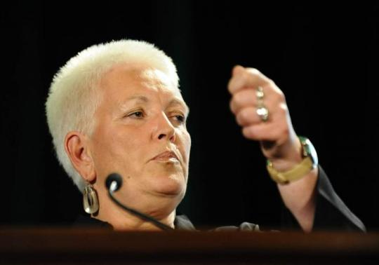 Gayle Smith, special assistant to President Barack Obama and senior director at the National Security Council, speaks during the Society for International Development (SID) World Congress in Washington, DC, on July 29, 2011. Jewel Samad/AFP/Getty Images
